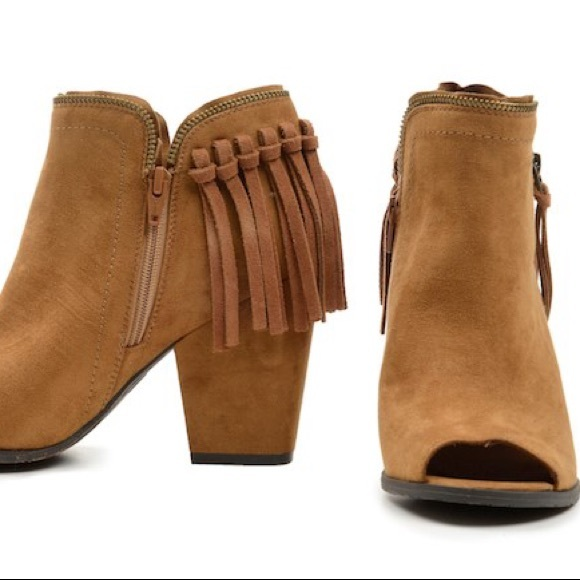 d442cfac09c1 DV by Dolce Vita Shoes - DV x Target Suede Fringe Booties